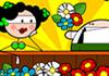 Game Nhanh tay nhặt hoa