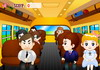 Game Hôn lén trên xe buýt 1