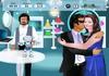 Game Robot hôn lén