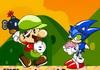 Game Mario ném lựu đạn