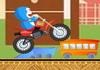 Game Doremon lái moto