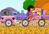 Game Lái xe đạp chở thú