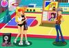 Game Hôn lén trên sân bóng rổ