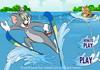 Game Tom chơi lướt ván với Jerry