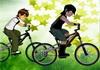 Game Ben10 đua xe đạp