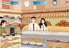 Game Hôn lén trong tiệm bánh