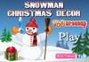 Game Trang trí người tuyết