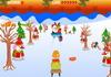 Game Trượt tuyết gom quà Noel