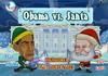 Game Obama đấu với ông già Noel
