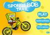 Game SpongeBob lái xe đạp