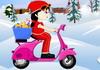 Game Lái xe gom quà Noel