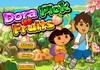 Game Dora nhặt trái cây