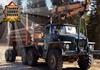 Game Lái xe tải chở gỗ