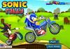 Game Sonic đua xe moto
