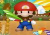 Game Mario phóng máy bay giấy