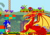 Game Sonic diệt rồng lửa