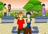 Game Hôn lén ở công viên 13