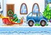 Game Lái xe chở quà Noel 2