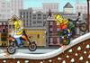 Game Bart đua xe địa hình