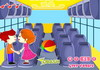 Game Hôn lén trên xe buýt 3