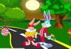 Game Thỏ con hôn lén