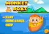 Game Khỉ con chèo thuyền