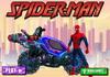 Game Người nhện lái xe bắn súng